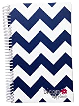 2014-15 Academic Year bloom Daily Day Planner Fashion Organizer Agenda August 2014 Through July 2015 Navy Chevron