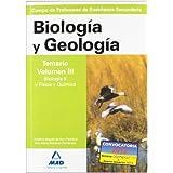 Cuerpo de profesores de enseñanza secundaria. Biología y geología. Temario. Volumen iii. Biología ii y física...