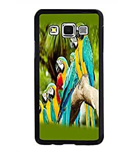 PRINTSWAG PARROTS Designer Back Cover Case for SAMSUNG GALAXY A3