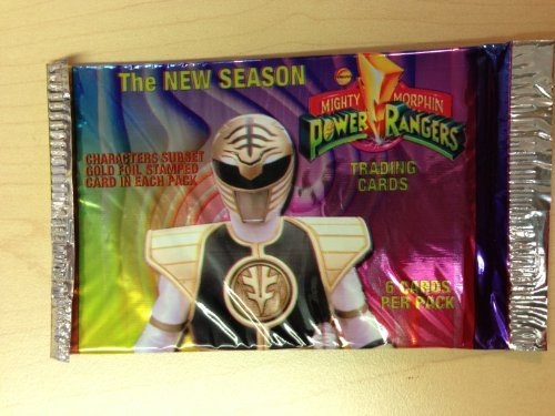 Mighty Morphin Power Rangers The New Season Trading Cards - 1