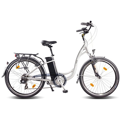 ncm roma 26 zoll elektrofahrrad damen tiefeinsteiger pedelec e bike alu 36v 250w lithium ionen. Black Bedroom Furniture Sets. Home Design Ideas