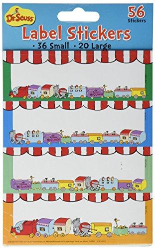 Paper Magic Eureka Dr. Seuss If I Ran The Circus Stickers - Label - 1