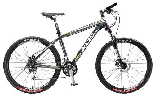 Xds Mx330 27-Speed Mountain Bike, Silver/Green