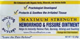 Doctor Butler's Hemorrhoid & Fissure Ointment...FDA Approved Relief & Healing Formula (also contains Organic Herbs, Minerals and Amino Acids)