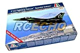 RCECHO® ITALERI Aircraft Model 1/48 F-16 Fighting Falcon Special Colors Hobby 2694 T2694 with RCECHO® Full Version Apps Edition