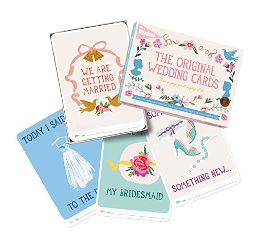 The Original Wedding Cards by Milestone - 30 photo cards to capture and remember every step from the engagement to the wedding day!