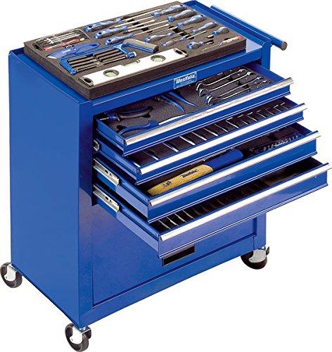 Werkstattwagen-auf-Rollen-mit-4-Schubladen