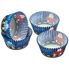 Kitchen Craft - Capsulas Cupcake Car, 60 Unids