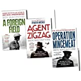 Ben Macintyre 3 Books The True Story Collection Pack Set RRP: �27.88 (Operation Mincemeat: The True Spy Story that Changed the Course of World War II, Agent Zigzag: The True Wartime Story of Eddie Chapman: The Most Notorious Double Agent of World War II, A Foreign Field)by Ben Macintyre