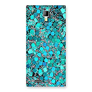 Special Paper Green Print Back Case Cover for Micromax Canvas Xpress A99