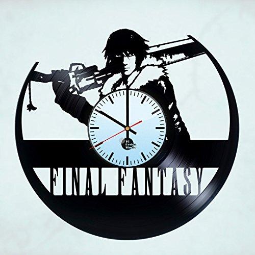 Final Fantasy X Handmade Vinyl Record Wall Clock Get