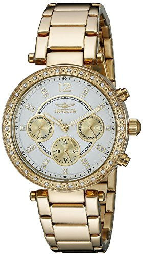 Invicta Women's 21387 Angel 18k Gold Ion-Plated