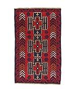 L'Eden del Tappeto Alfombra Beluchistan Rojo / Multicolor 85 x 137 cm