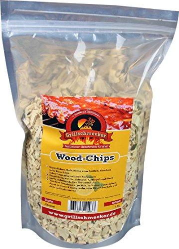 Räucher Chips von Grillschmecker 1kg Zitrone