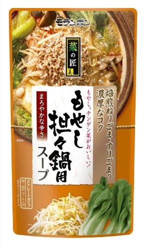 モランボン もやし担々鍋用スープ 750g×10P
