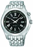 Seiko Men's Kinetic Watch SKA469P1 with Stainless Steel Bracelet