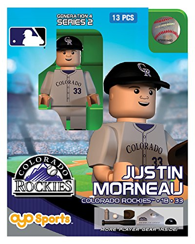 Justin Morneau MLB Colorado Rockies Oyo G4S2 Minifigure