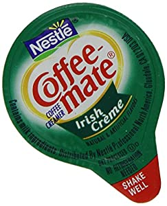 Coffee-mate Coffee Creamer, Liquid Singles, 0.375 Ounce Creamers (Pack of 180)