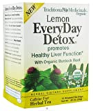 Traditional Medicinals Teas Lemon Everyday Detox, 16 Bags