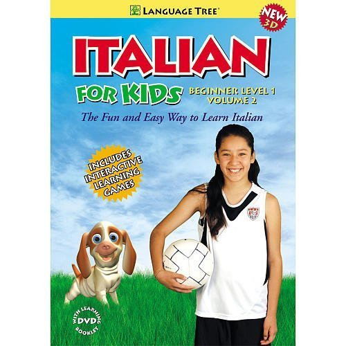 Language Tree Italian for Kids: Beginner Level 1, Vol. 2 DVD