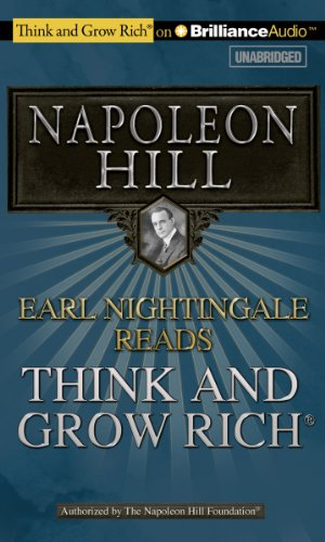 Earl Nightingale Reads Think and Grow Rich book cover