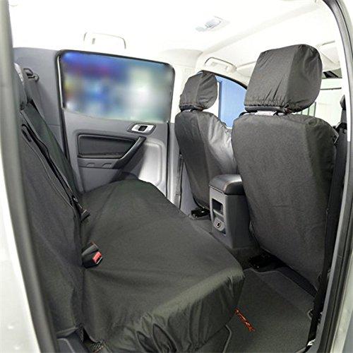ford-ranger-t6-double-cabine-ajuste-avant-arriere-housse-de-siege-selle-2012-noir