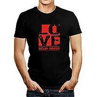 Idakoos LOVE Secular Humanism - Religions - T-Shirt