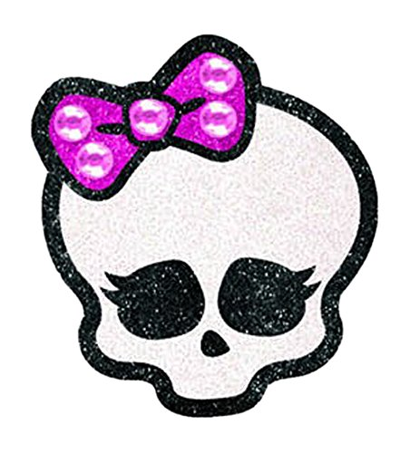 "Amscan Monster High Skullete Body Jewelry (1 Piece), White/Pink/Black, 5 x 375"" - 1"