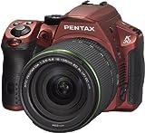 PENTAX デジタル一眼レフ K-30 18-135レンズキット シルキーレッド(受注生産約2週間) K-30LK18-135 S-RD