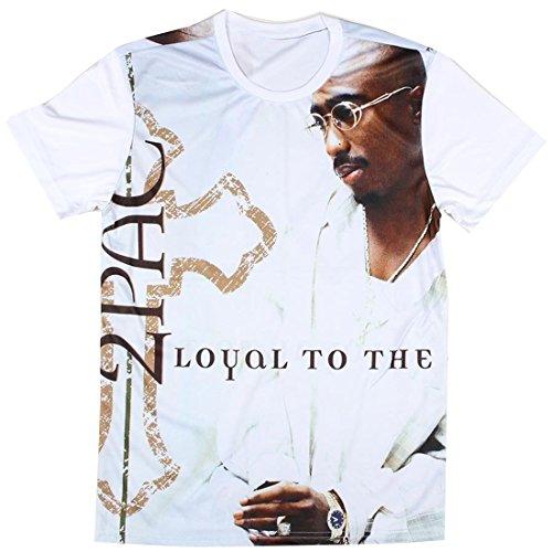 4a29d553c26 Unisex Cool Tupac 2Pac Shirt Clothing for Women Men Size XL