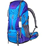 OutdoorMaster Creeper 60L Internal Frame Backpack Travel Backpack with Adjustable System for Camping Hiking Mountaineering