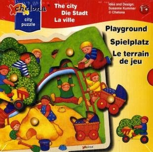 Picture of Fun Chelona Playground Link Knob Puzzle (B0018ZJNEK) (Pegged Puzzles)