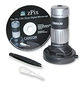 Carson MM-640 Z-pix Digital Zoom Microscope