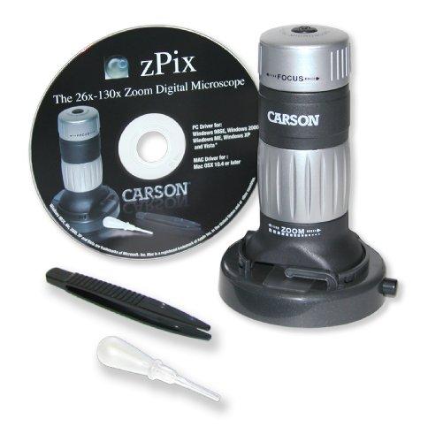 Carson Z-pix Digital Zoom Microscope