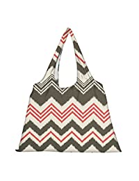 Snoogg High Strength Reusable Shopping Bag Fashion Style Grocery Tote Bag Jhola Bag - B01B971P7Y