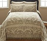 Cody Direct Sade Queen Bedspread, Linen