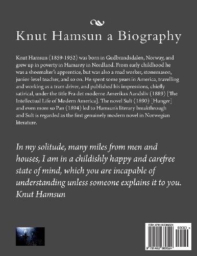 Knut Hamsun a Biography