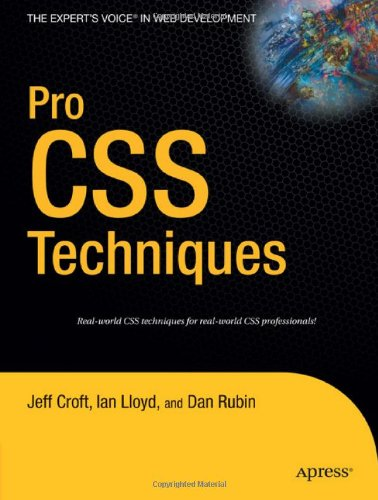 Pro CSS Techniques