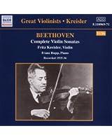 Beethoven: Violin Sonatas (Complete) (Kr