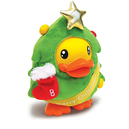 B.Duck Xmas Tree Saving Bank, 16cm