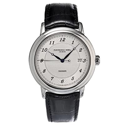 Raymond Weil Maestro Automatic Silver Dial Mens Watch 2837-STC-05659