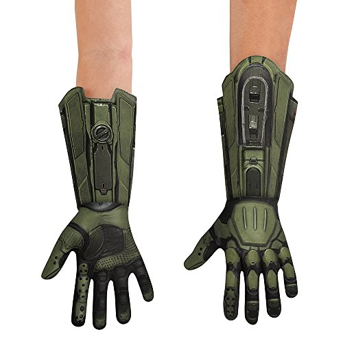 Disguise Men's Master Chief Deluxe Adult Costume Gloves