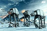 Star Wars Poster AT-AT on Hoth with Accessory Item multicoloured