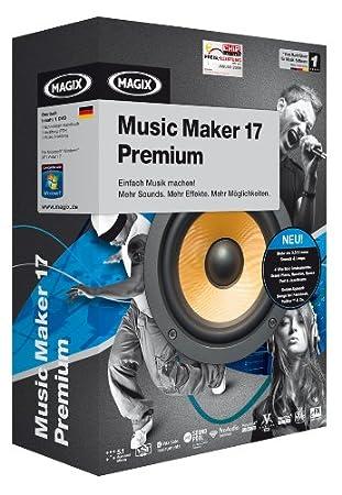 MAGIX Music Maker 17 Premium - Minibox