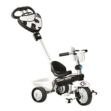 Smart-trike - 1573400 -Vélo et Véhicule pour Enfant - Tricycle -Recliner Zoo - 3 en 1 Vache