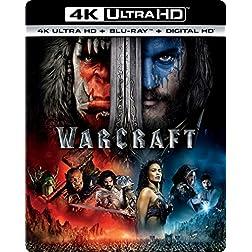 Warcraft [4K Ultra HD + Blu-ray]
