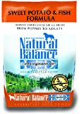 Dick Van Patten's Natural Balance Lid Sweet Potato and Fish Dry Dog Food, 4.5-Pound Bag
