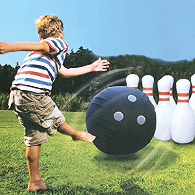 Etna Giant Inflatable Bowling Set by Etna