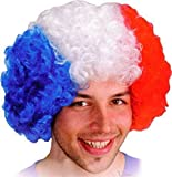 TUROBOT Halloween Afro Perruques Cosplay Cheveux Clown perruque synthétique fans de football perruque pour Coupe Europe 2016...