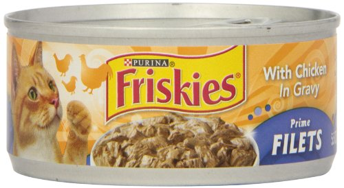 Friskies, Prime Fillet Chicken in Gravy, 5.5 oz